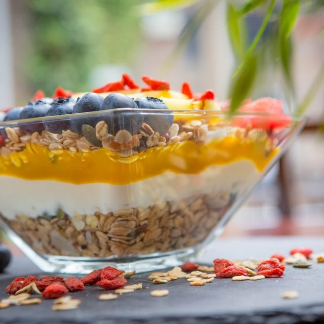 Vitality Breakfast granola bowl