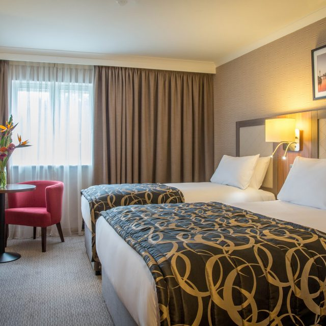 Deluxe Room at clayton hotel chiswick