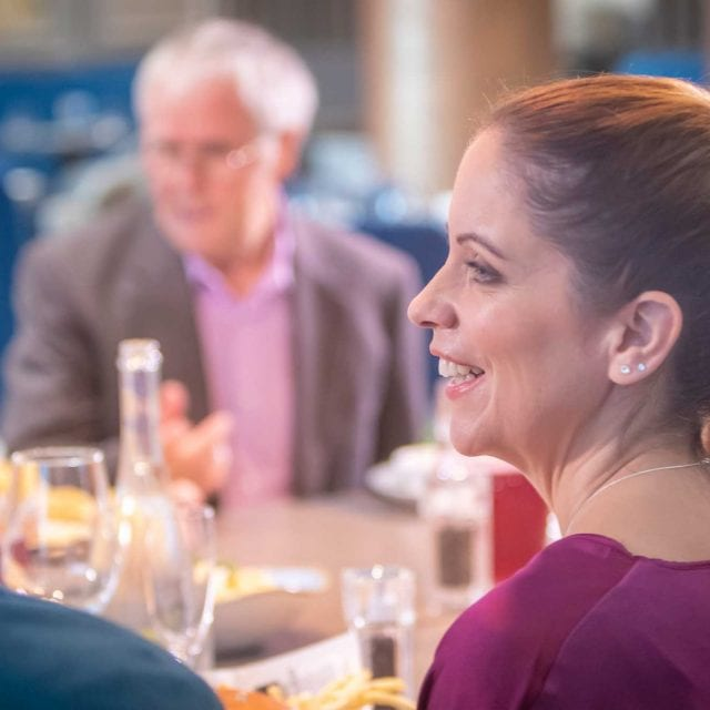 Family dining in Clayton Hotel