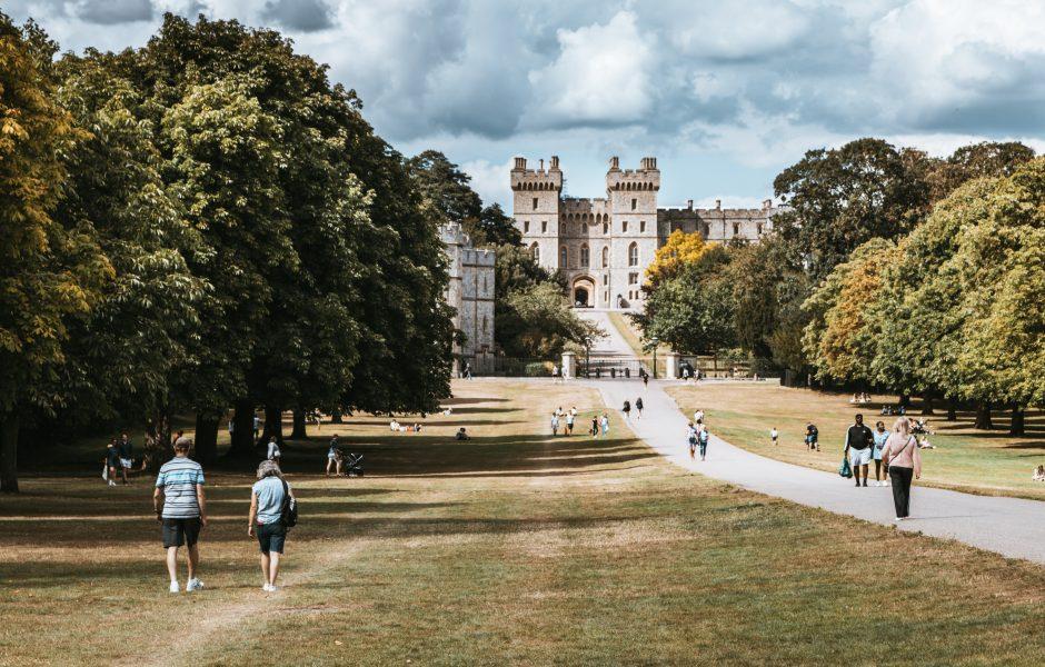 Windsor Castle near West London